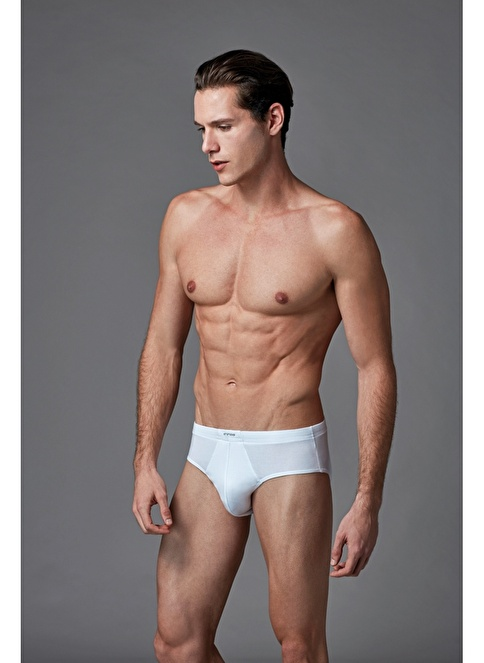 Eros Micro Modal 2'li Slip Beyaz
